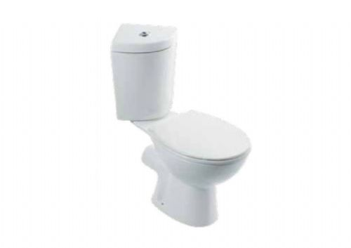 Eastbrook Cheverney Corner Toilet Inc Soft Close Seat